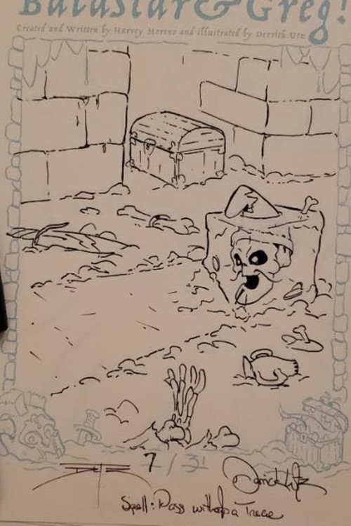 Inktober Day 07: Pass Without Trace